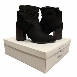 Steve Madden Casual Black Heeled Ankle Boots